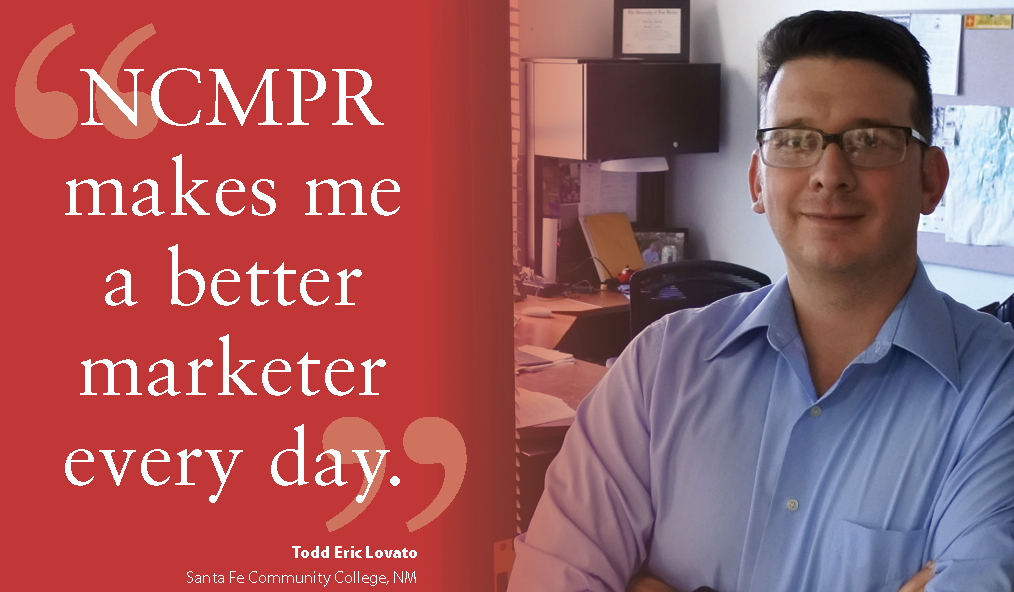 NCMPR makes me a better marketer every day.